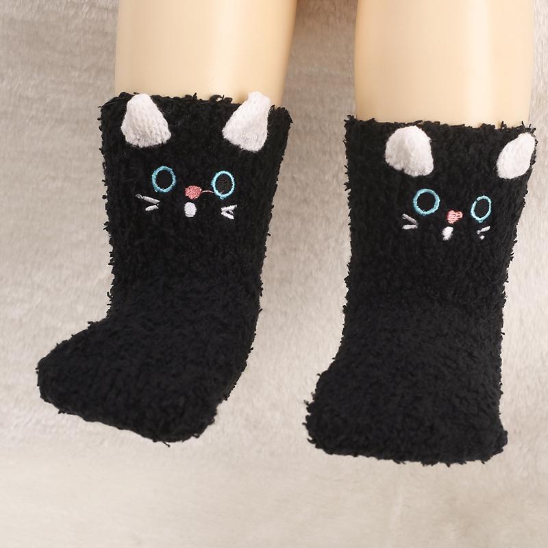 Cartoon Design Winter Socks