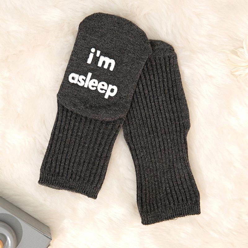 Letter Pattern Socks for Baby