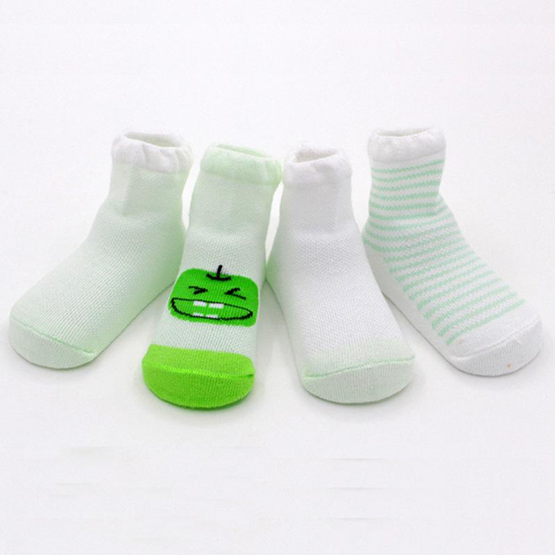 4-piece Mesh Socks for Baby