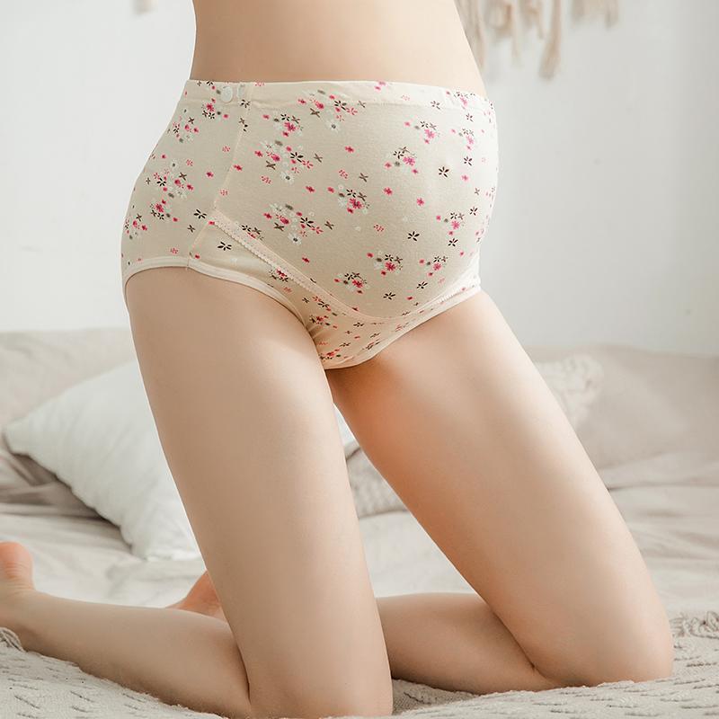 Floral Print Highwaist Panties
