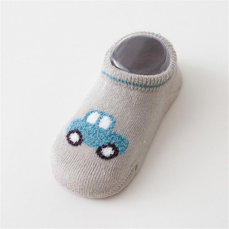 Cartoon Design Antiskid Breathable Socks