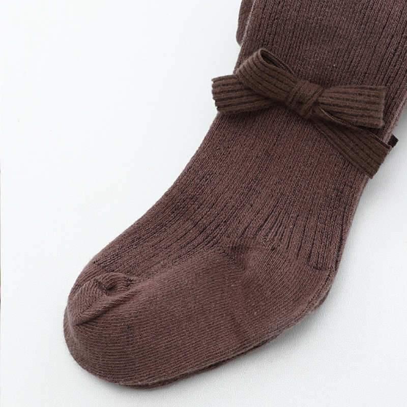 Solid Footless Leggings Tights