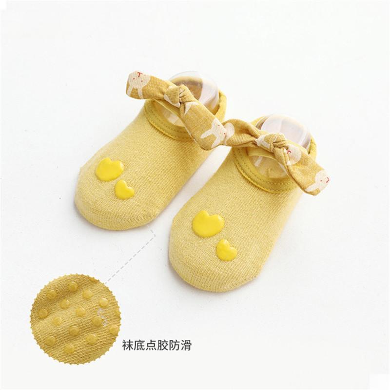 Sweet Cartoon Design Antiskid Breathable Socks