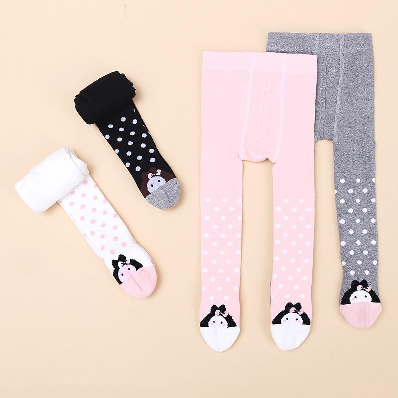 Cartoon Pattern Footless Leggings for 0-3 Years Old Baby