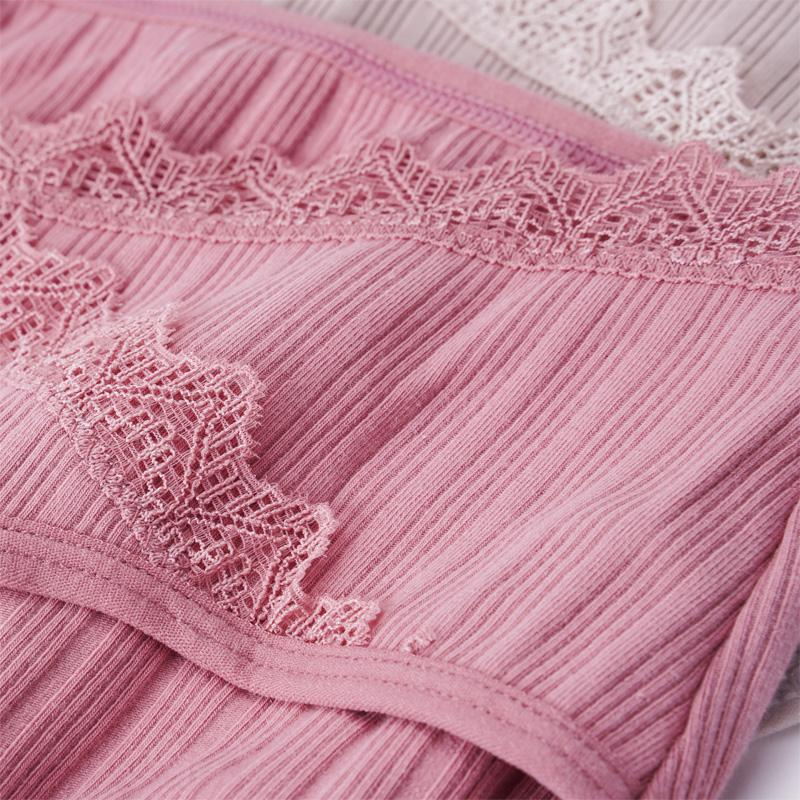 Maternity Lace Decor Cotton Breathable Underwear