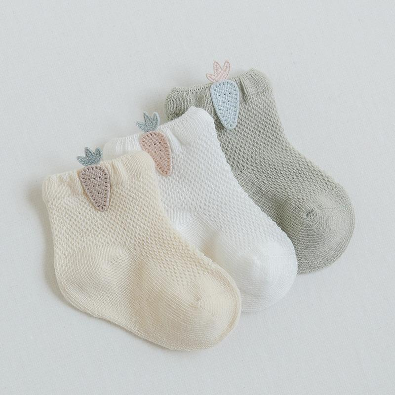 3-piece Breathable Mesh Children's Socks
