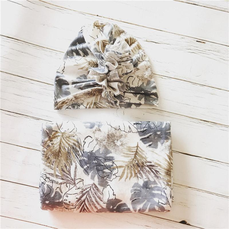2-Piece Wrapping Towel and Hat Set