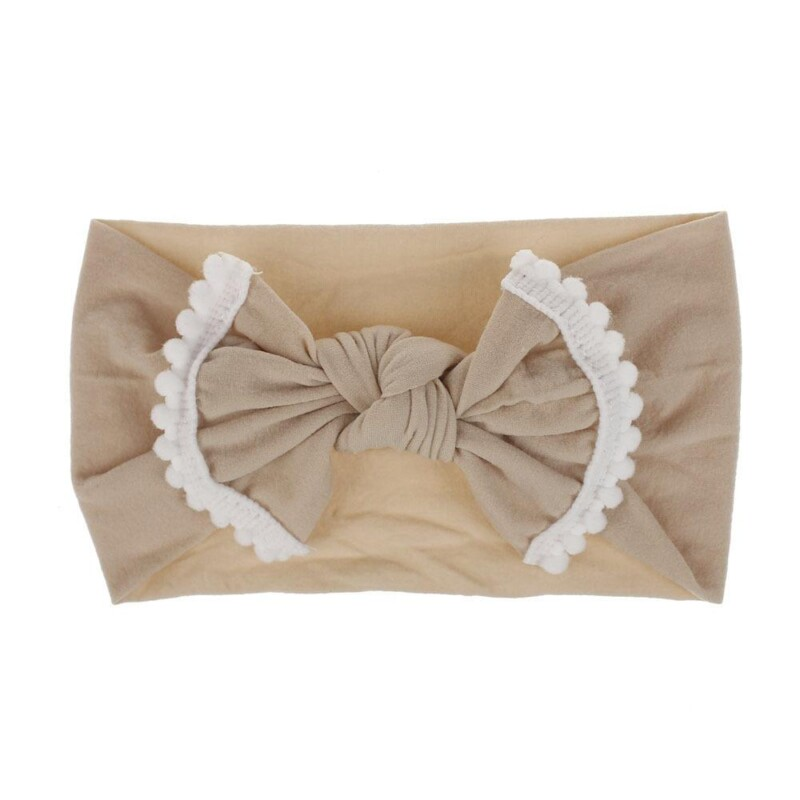 Small Ball Decorative Bow Hair Accessories for Baby/Toddler Girl