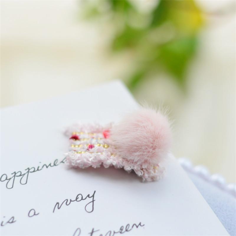 4-piece Children's Pink Hair Clip
