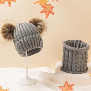 2-piece Scarf & Hat for Baby