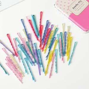 50-piece Multicolor Hair clip