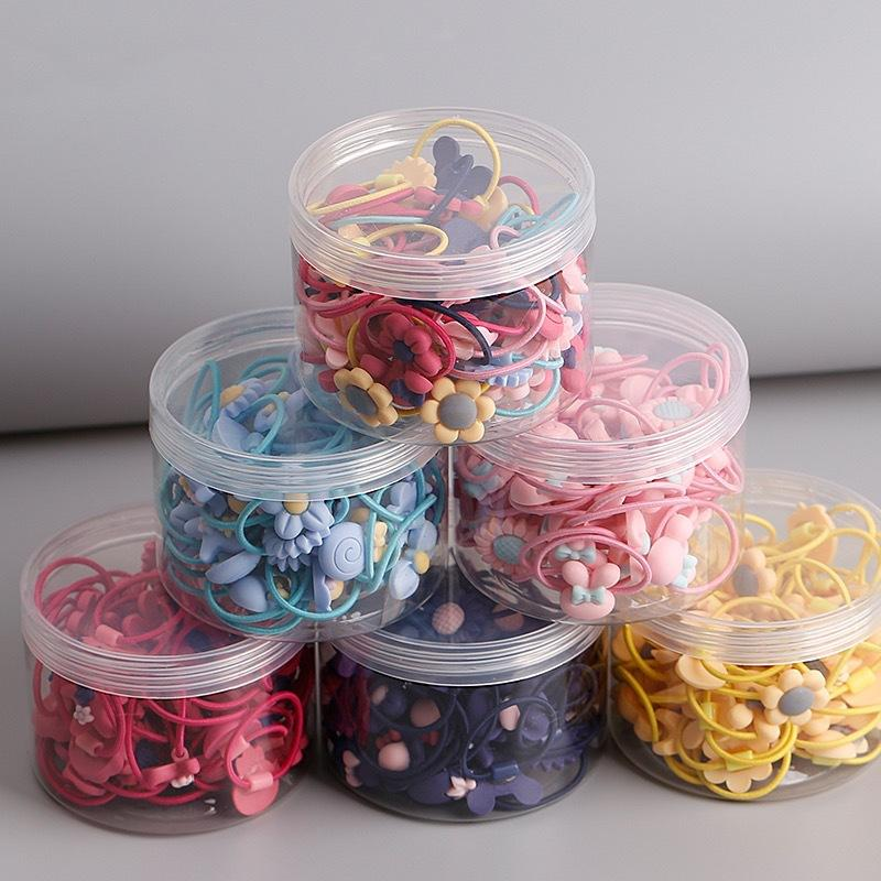 1-Can Colorful Hair Rope