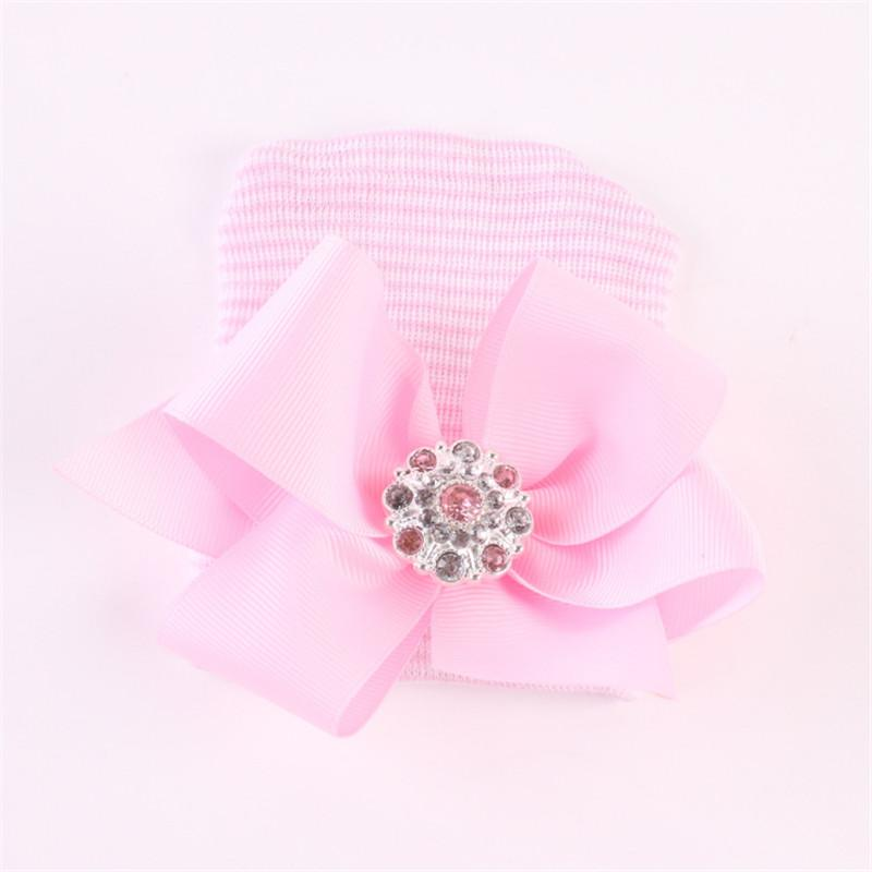 Newborn Baby Princess Hat with Big Bowknot
