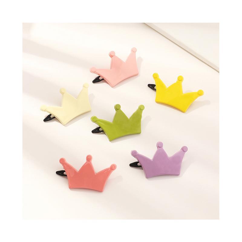 6-piece Crown Children's Hair Clip