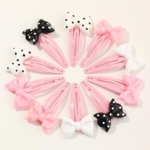 10-piece Bow Children's Hair Clip