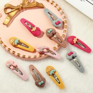 10-piece Hair Clip for Girl