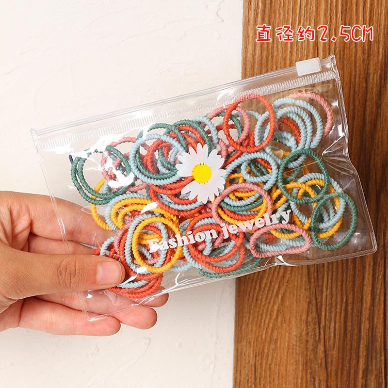 100-piece Colorful Hair rope