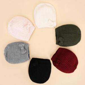 Solid Knit Woolen Hat
