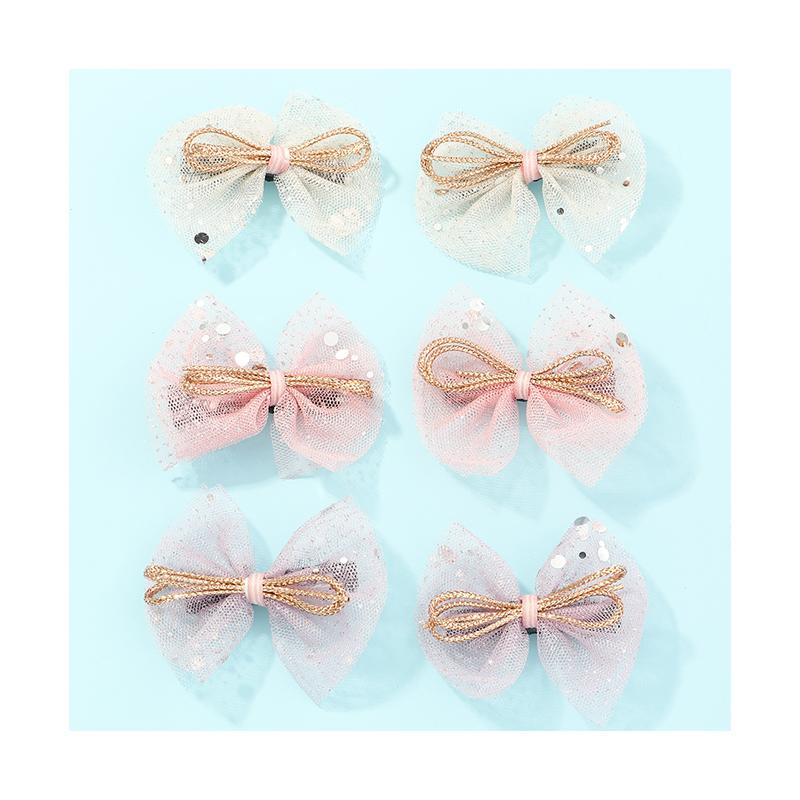 6-piece Sweet Children's Hair Clip
