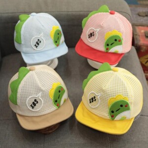 Cartoon Design Duckbill Cap for Baby Boy