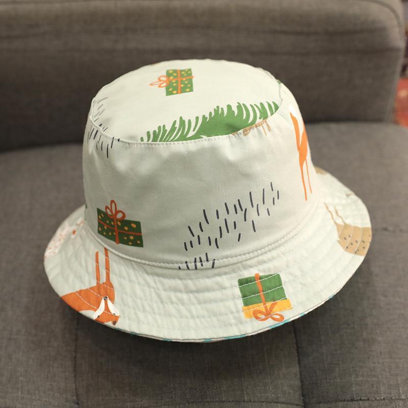 Double Side Bucket Hat Sun Visor Summer Fisherman Hat