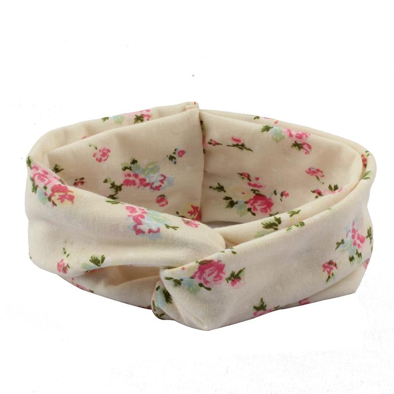 Sweet Floral Printed Parent-child Headband