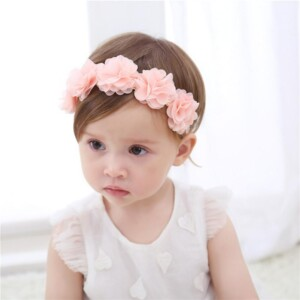 3D Design Flower Headband