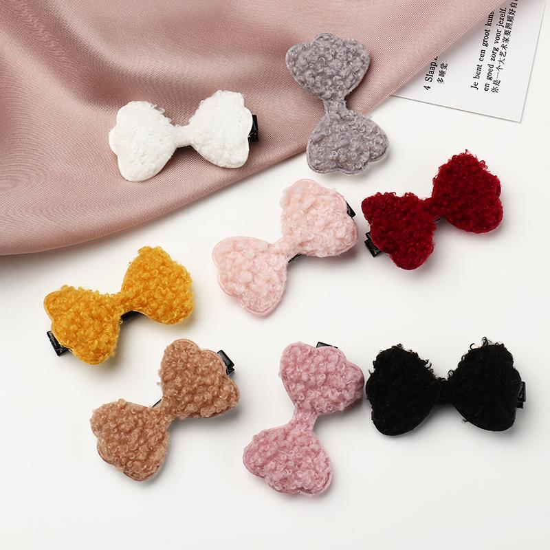 8-piece Bowknot Hair Clip for Girl