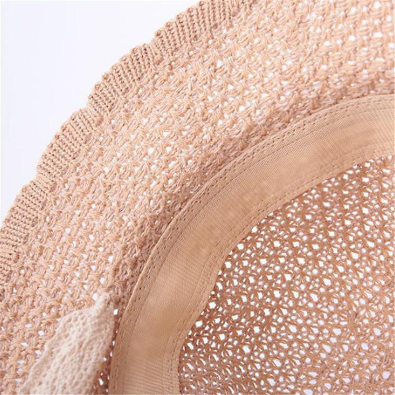 Embroidered Straw hat For Children