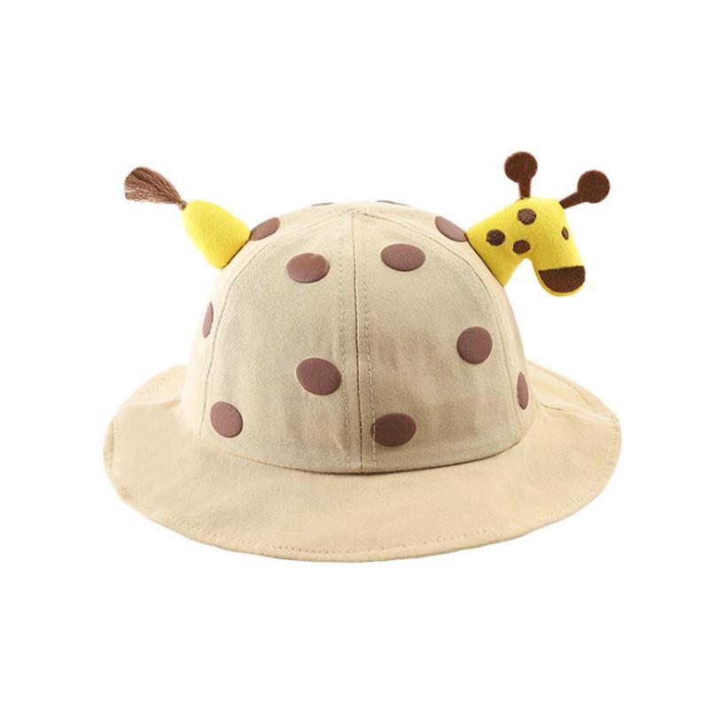 Cartoon Deer Basin Cap for Baby