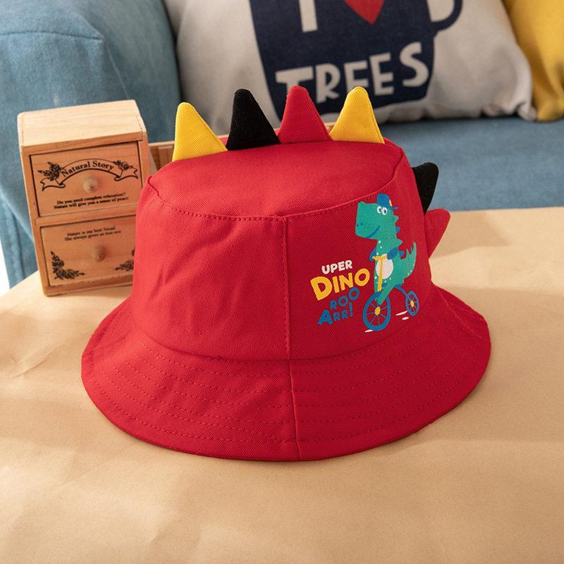Dinosaur Pattern Bucket Hat