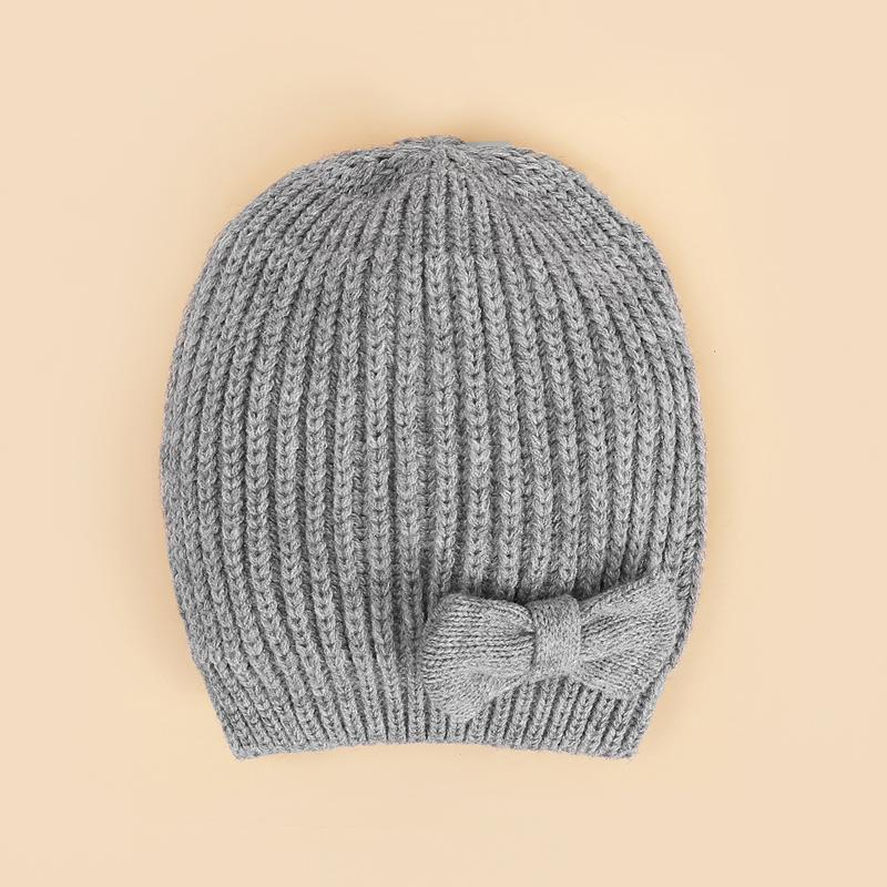 Solid Knit Woolen Hat