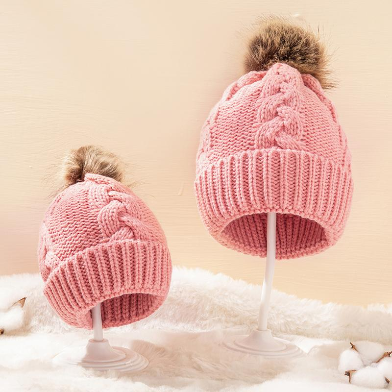 Woolen hat for Mother & baby