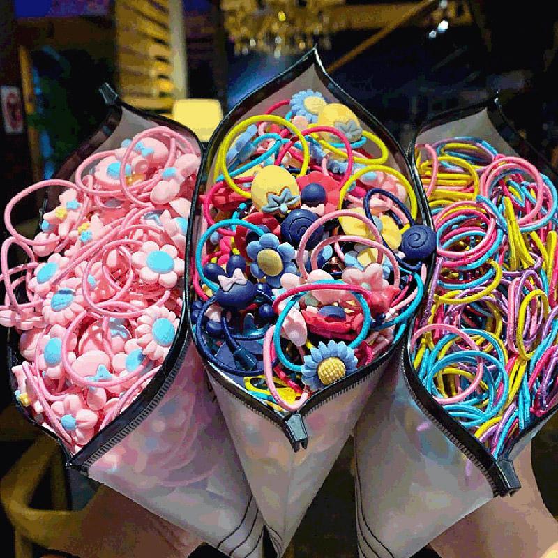 Cartoon Princess Girls Hair Rubber Bands Accessories