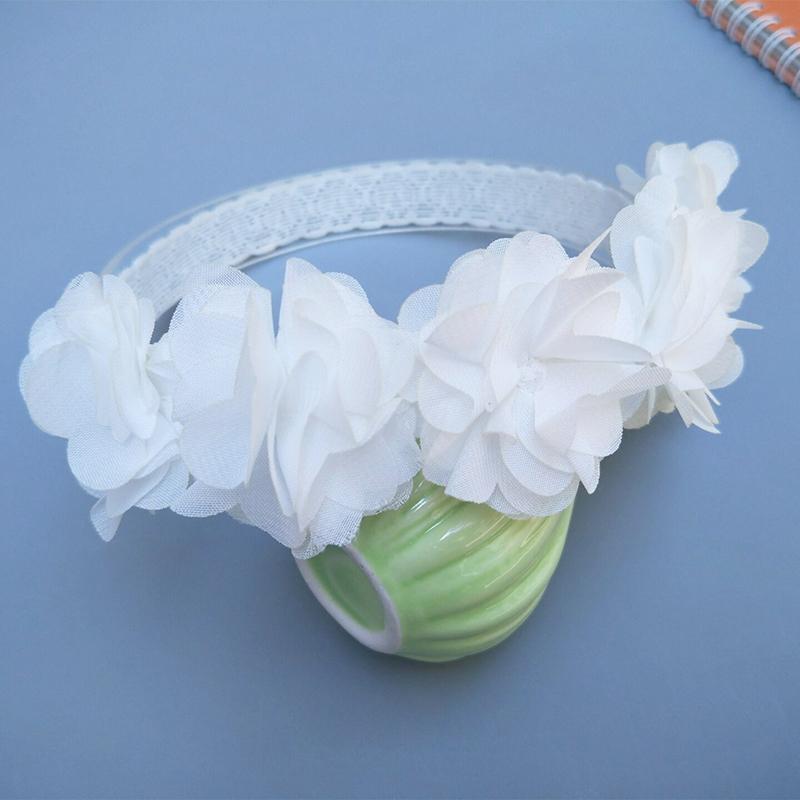 3D Design Flower Headband