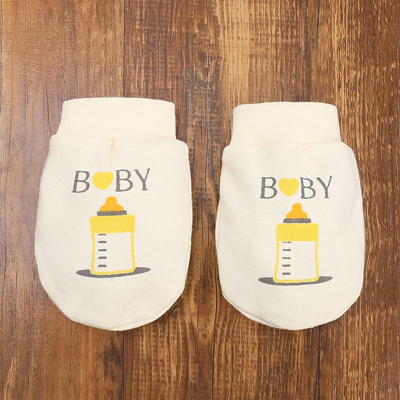 Lovely aby anti-scratch gloves for 0-1 Years Old Baby
