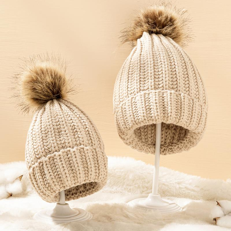 Woolen hat for Mother & baby