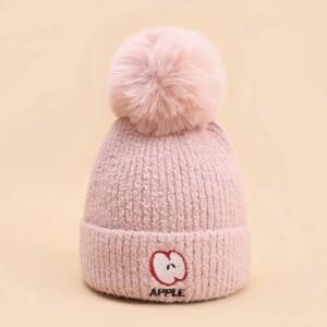 Fruit Pattern Woolen Hat for Toddler