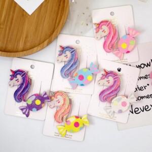 Cartoon Design Children's Hair Accessories Hair Clip