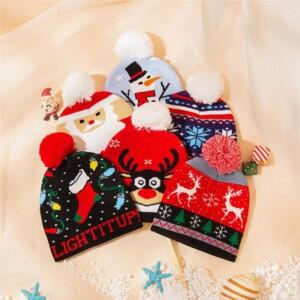 Christmas Children's Woolen Hat