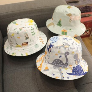Double Side Bucket Hat Sun Visor Summer Fisherman Hat