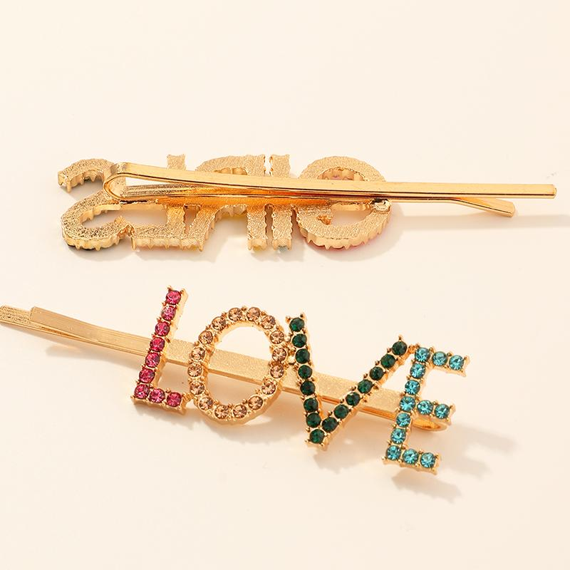 2-piece Letter Children's Hair clip