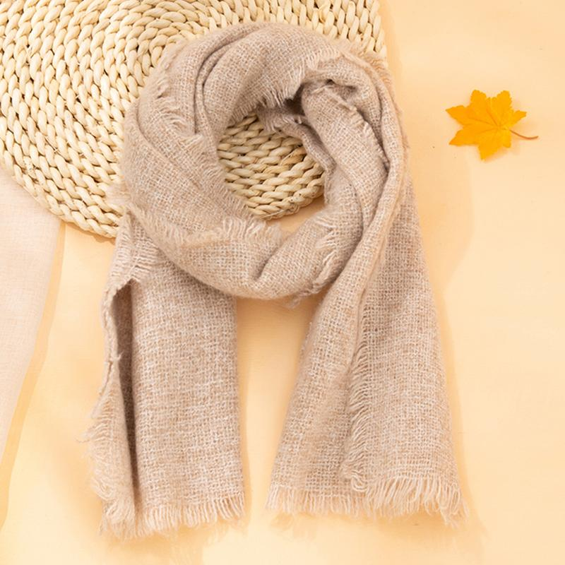 Solid Color Scarf for Children