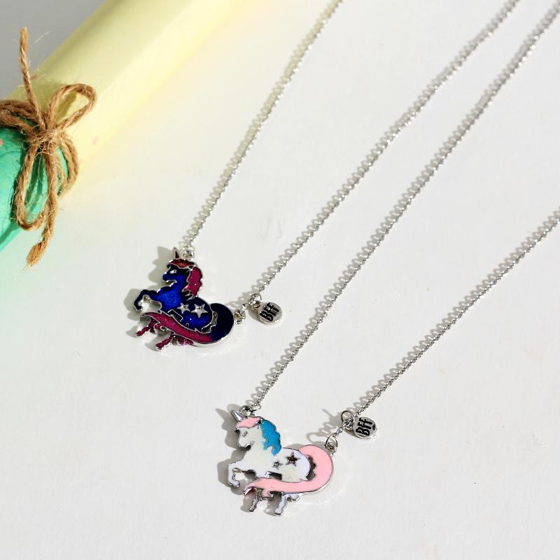 2-Pieces Cartoon necklace For Children's