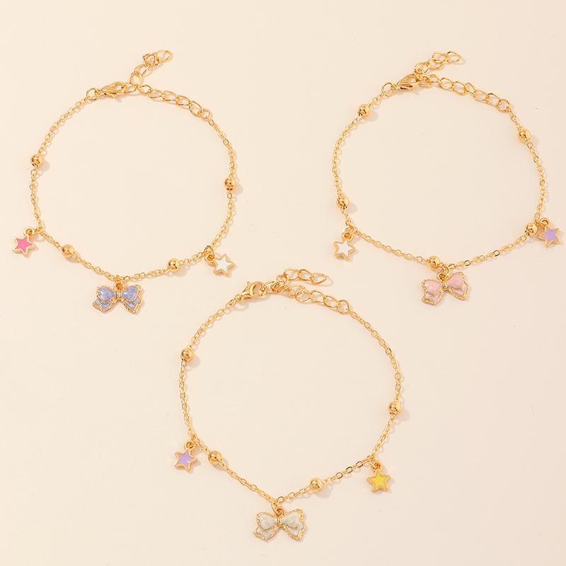 3-Pieces Sweet Children's bracelet For Girls