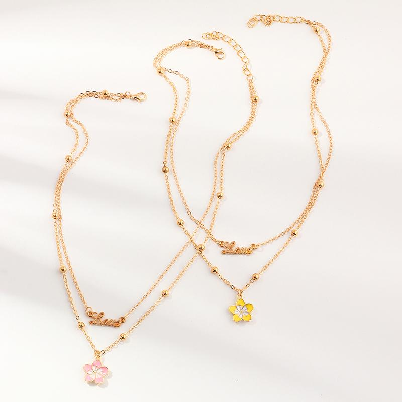 2-pieces Sweet Children's necklace For Girls