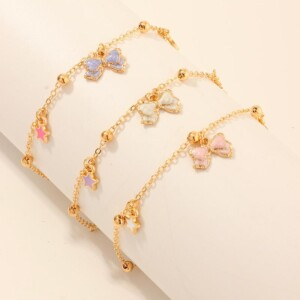 3-Pieces Sweet Children's bracelet For Girls