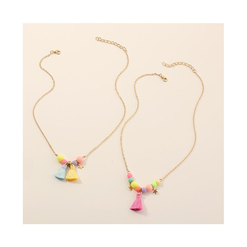 2-piece Cozy Personality Baby Jewelry Necklace