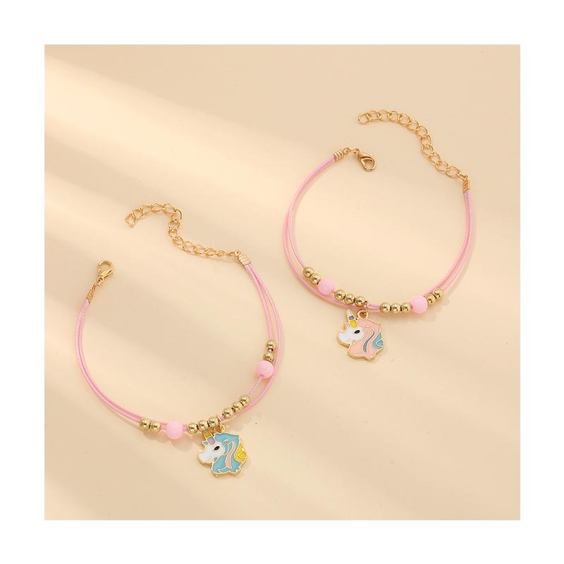 2-piece Sweet Children's Bracelet