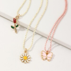 3-piece Cozy Personality Baby Jewelry Necklace